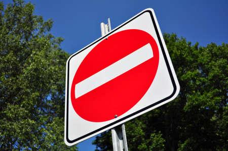 do not enter: Do not enter, wrong way traffic sign