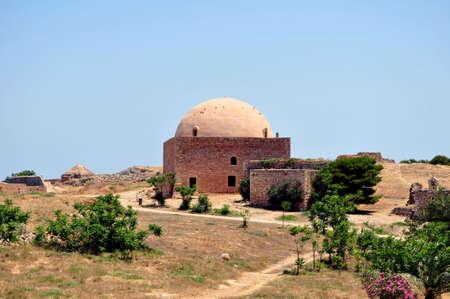 rethymno: Fortetza: Medieval fortress in Rethymno, Crete, Greece. Stock Photo