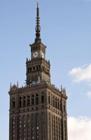 문화와 과학 궁전 바르샤바, 폴란드에서 가장 높은 건물.