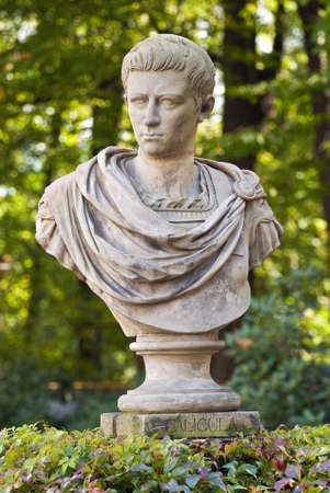 Memorial of Gaius Julius Caesar Germanicus (Caligula). Stock Photo