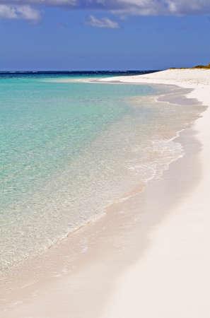 fantastic view: Fantastic view of a Caribbean beach.