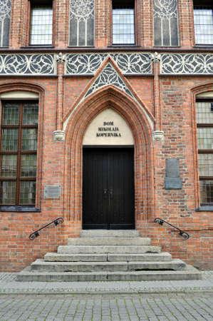 torun: House of Nicolaus Copernicus in his home town of Torun, Kingdom of Poland.