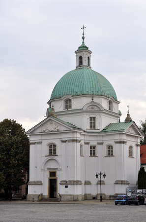 Historic church of Saint Casimir, in Warsaw, Poland.