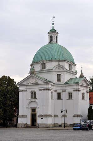 casimir: Historic church of Saint Casimir, in Warsaw, Poland.