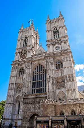 Westminster Abbey, in the city of London, England