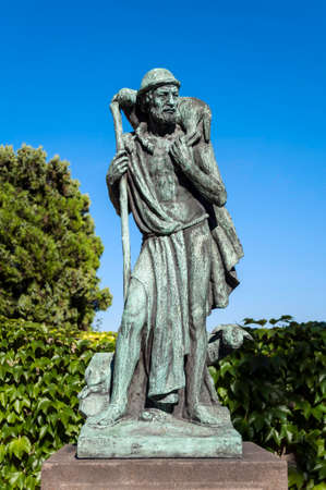 sheperd: Statue of the Good Sheperd in Prague, Czech Republic