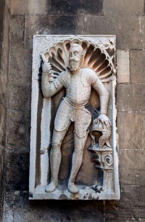 bas relief: Bas-relief in Bratislava, Slovakia, Grof Palffy Csalad