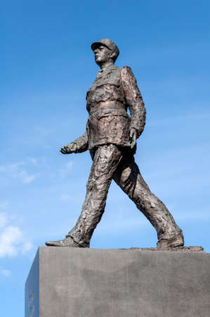 charles de gaulle: Monument to French President Charles De Gaulle