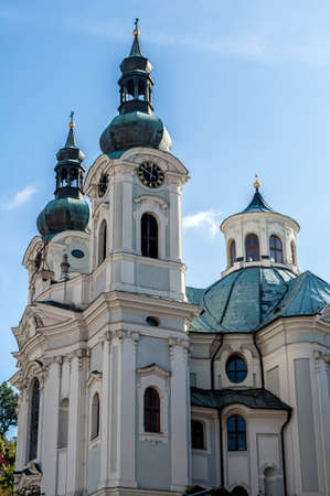vary: St. Mary Magdalene Church in the spa town of Karlovy Vary.