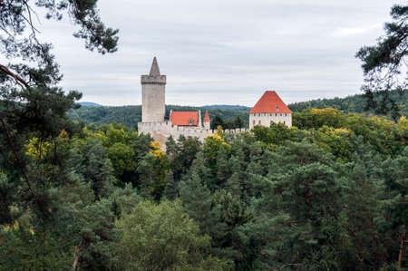 fortify: Medieval Kokorin castle, in the Czech Republic.