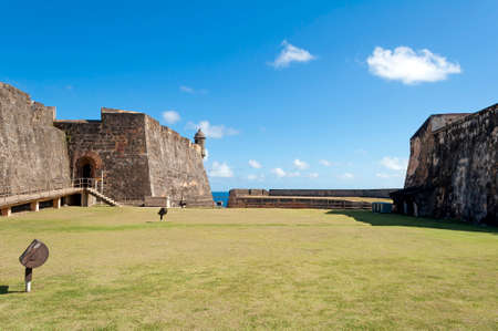 juan: Castillo de San Cristobal, in Old San Juan, Puerto Rico. Editorial