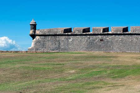 juan: Castillo de San Felipe del Morro, in Old San Juan, Puerto Rico. Editorial