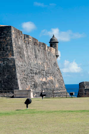 san juan: Castillo de San Cristobal, in Old San Juan, Puerto Rico. Editorial