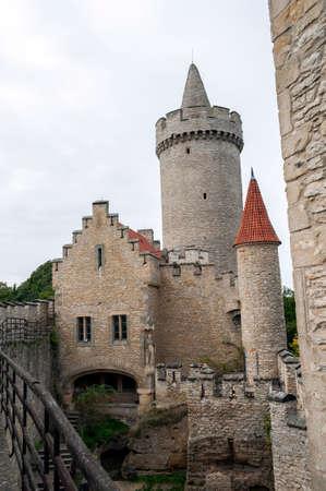 Medieval Kokorin castle in the Czech Republic.