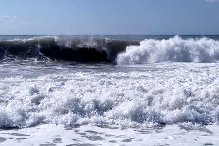 Waves in the Mediterranean