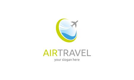 air travel: Icona Air Viaggi Vettoriali