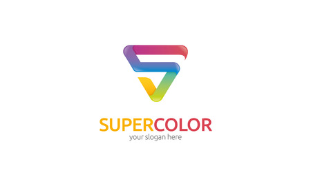 s curve: Super Color Logo