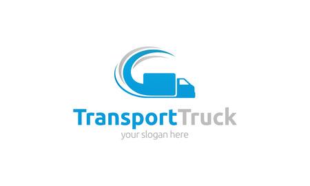 transportes: Cami�n Transporte Logo