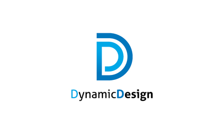 Dynamic Design Logo Stock fotó - 47282396