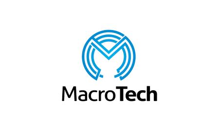 logo marketing: Macro Tech