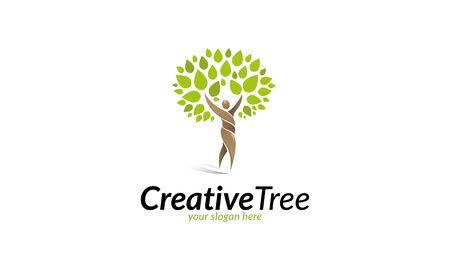 arbol de la vida: Árbol creativo Vectores