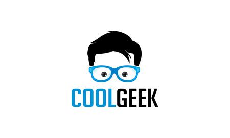nerd: Cool Geek Illustration