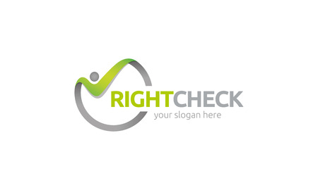 employ: Right Checker Illustration