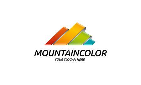 mountain peak: Mountain Color