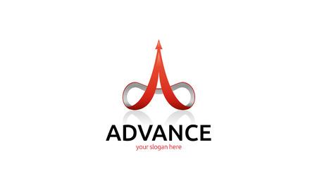 infotech: Advance logotype
