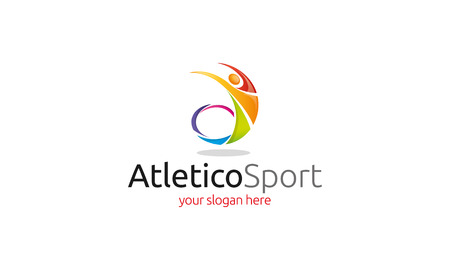 Atletico Sport Logo Stock fotó - 47831831