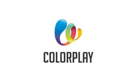 play of color: Play Color Logo Illustration