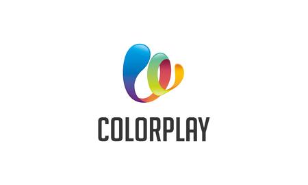 dir: Play Color Logo Illustration