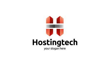 crisp: Hosting Tech Logo Illustration