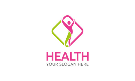 health logo Stock fotó - 47831876