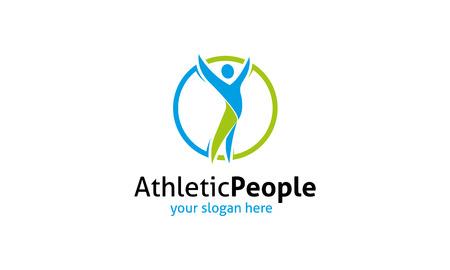 Athletic People   Illustration