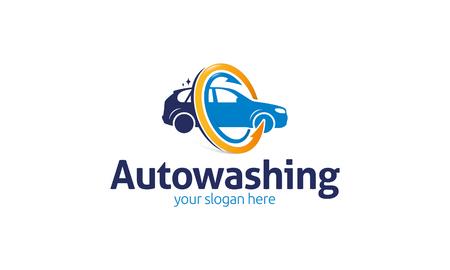 auto washing: Auto Washing   Illustration