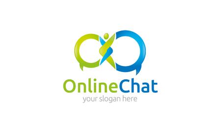 communicative: Online Chat   Illustration