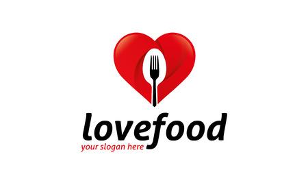 food: Love Food Logo