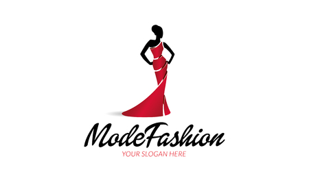 Mode Fashion Logo Banque d'images - 72770796
