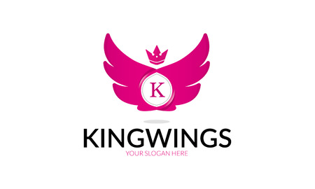 King Wings Illustration