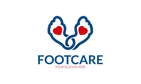 Foot Care Logo Stock fotó - 73121881