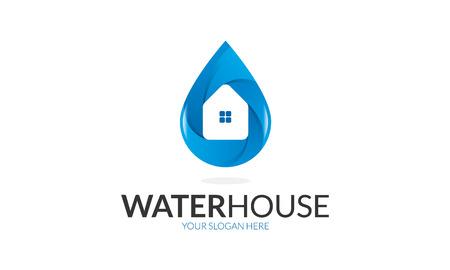水ハウスのロゴ
