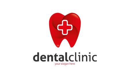 professional occupation: Dental Clinic logo Illustration