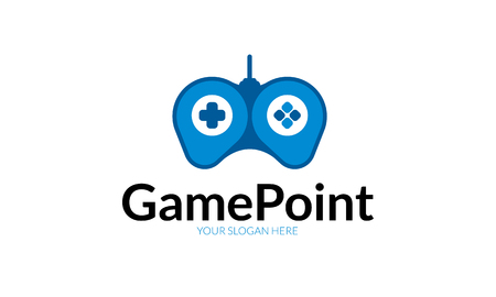 Game Point Logo Stock fotó - 74193262