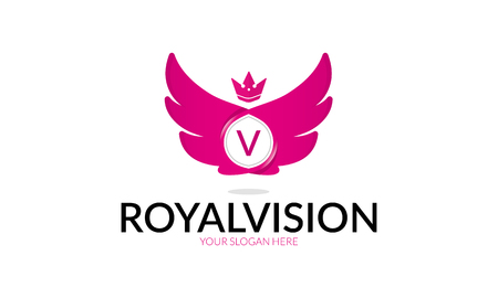 Royal Vision Logo Illustration