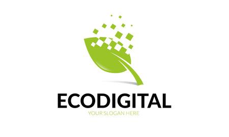 Digital Eco Logo on a white background