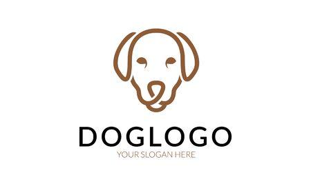 profesional: Dog logo