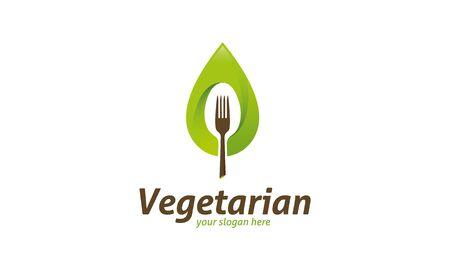 profesional: Vegetarian Logo