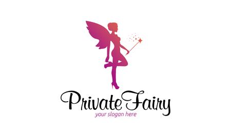 fashion shoes: Private fairy Logo.