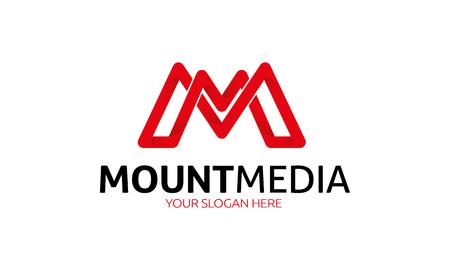 마운트 미디어 로고